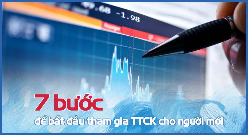 7 bước để tham gia thị trường chứng khoán